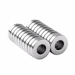 1/2 x 1/4 x 1/8 Inch Strong Neodymium Rare Earth Ring Magnet