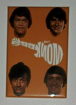 "The Monkees Rock band  Refrigerator Magnet 2"" X 3"" fridge lo"