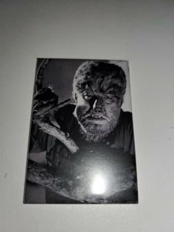 The Wolfman classic horror movie poster Refrigerator Magnet