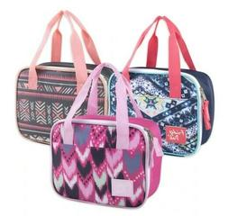 Fridge Pak Two TonePortable Insulated Lunch bag New with T