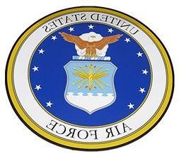 ALBATROS U.S. Air Force USAF Circular 12ft Inch Magnet  for