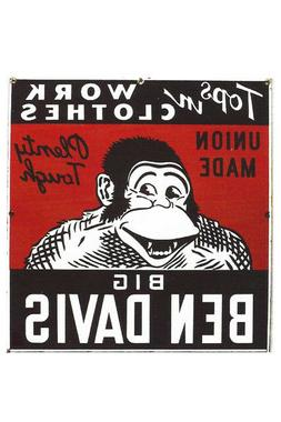 Vintage Fridge Toolbox Magnet  Classic Sign Ben Davis Ape Go