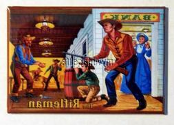 "Vintage THE RIFLEMAN  Lunchbox 2"" x 3"" Fridge MAGNET"