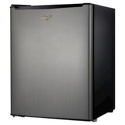 WHIRPOOL 2.7 Cu. Ft. STAINLESS STEEL MINI REFRIGERATOR WH27S