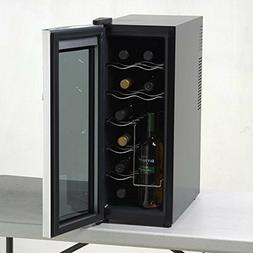 Wine Cooler Refrigerator Beverage Chiller 12 Bottle Storage