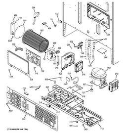 Ge WR55X28074 Refrigerator Electronic Control Board Genuine